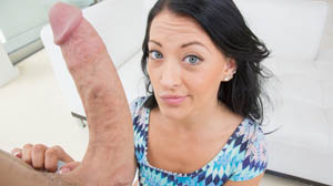 Kelly Diamond Caressing The Cock at Teen Love Huge Cocks